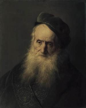 Reproduction oil paintings - Jan Lievens - Study of an Old Man c. 1629