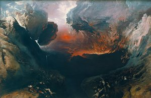 Reproduction oil paintings - John Martin - Great Day of His Wrath  1851-53