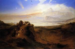 Reproduction oil paintings - John Martin - The Eve of the Deluge 1840