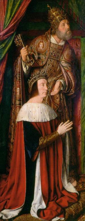 Pierre de Bourbon and his Patron Saint 1498-99