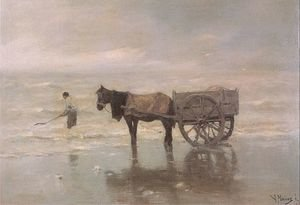 Anton Mauve reproductions - Gathering Seaweed