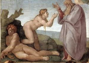 Reproduction oil paintings - Michelangelo - Creation of Eve 1509-10