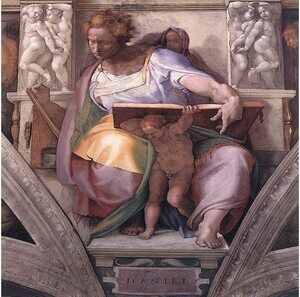 Reproduction oil paintings - Michelangelo - Daniel 1511