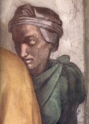 Reproduction oil paintings - Michelangelo - Jacob - Joseph (detail-2) 1511-12