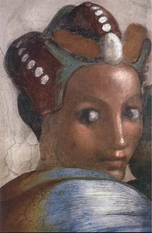 Reproduction oil paintings - Michelangelo - Jacob - Joseph (detail-4) 1511-12