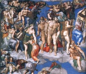 Last Judgment (detail-11) 1537-41
