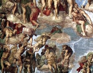 Last Judgment (detail-13) 1537-41