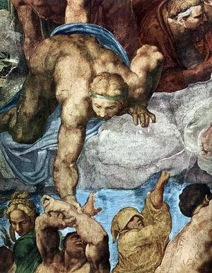 Last Judgment (detail-14) 1537-41