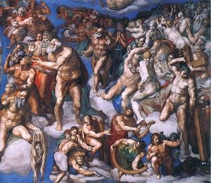 Last Judgment (detail-20) 1537-41