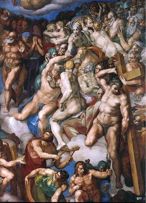 Last Judgment (detail-21) 1537-41