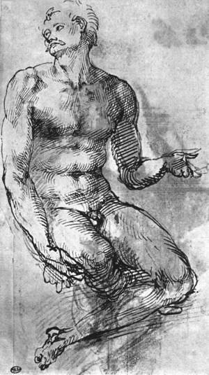 Nude Man from the Front 1510-11