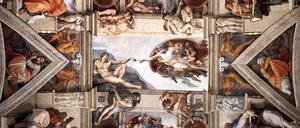 Reproduction oil paintings - Michelangelo - The ceiling (detail-2) 1508-12
