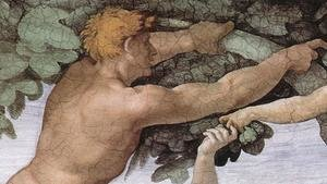 Reproduction oil paintings - Michelangelo - The Fall and Expulsion from Garden of Eden (detail-3) 1509-10