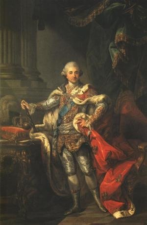 Portrait of King Stanislaus Augustus in a Coronation Costume