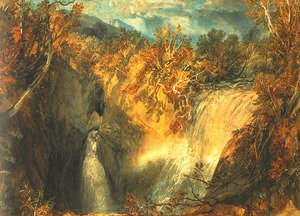Reproduction oil paintings - Turner - Weathercote Cave