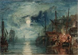 Reproduction oil paintings - Turner - Shields, on the River Tyne