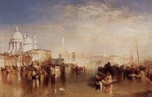 Reproduction oil paintings - Turner - Venice