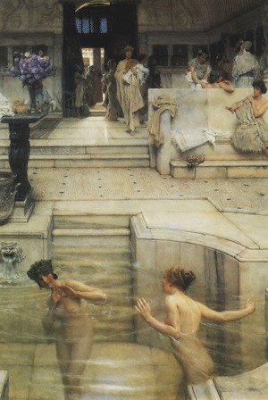 Famous paintings of Pools: Favourite Custom