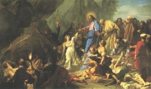 Jean-baptiste Jouvenet reproductions - Resurrection of Lazarus