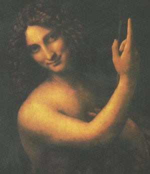 Reproduction oil paintings - Leonardo Da Vinci - St. John the Baptist (San Giovanni Battista)
