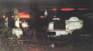 Famous paintings of Cemeteries: Italian Cemetery