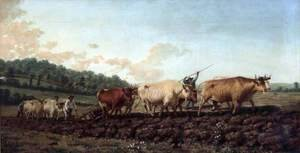Ploughing in the Nivernais Region 1849