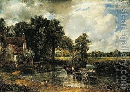 John Constable: Haywain - reproduction oil painting