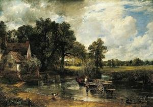Famous paintings of Transportation: Haywain