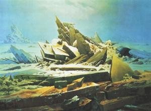 Famous paintings of Ice: Wreck of the Hope