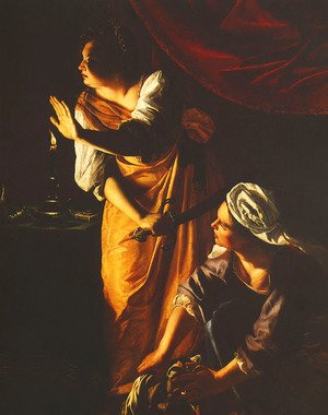 Reproduction oil paintings - Artemisia Gentileschi - Judith and Maidservant With the Head of Holofernes