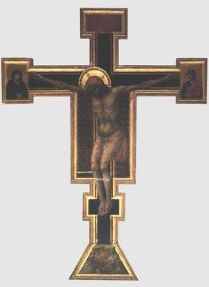 Reproduction oil paintings - Giotto Di Bondone - Crucifix