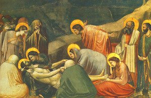 Reproduction oil paintings - Giotto Di Bondone - Lamentation