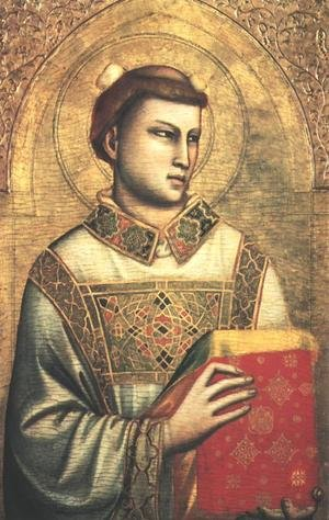 Reproduction oil paintings - Giotto Di Bondone - St. Stephen