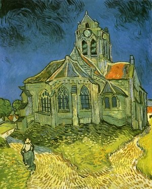 Reproduction oil paintings - Vincent Van Gogh - Church at Auvers