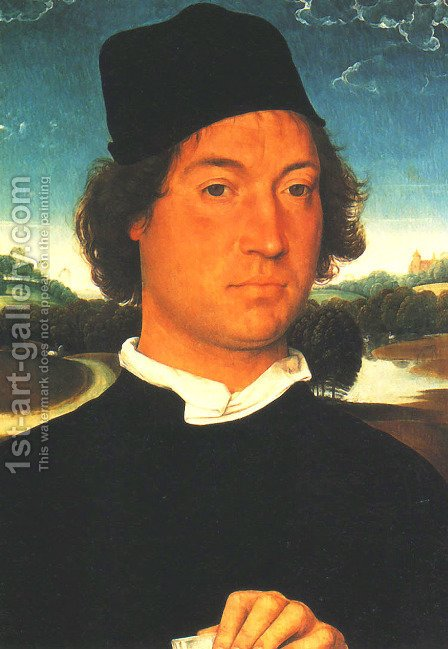 Portrait of a Man by Hans Memling - Reproduction Oil Painting