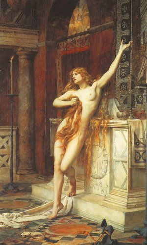 Charles William Mitchell reproductions - Hypatia