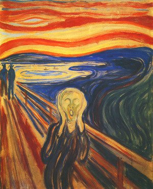 Reproduction oil paintings - Edvard Munch - Scream