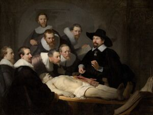 Reproduction oil paintings - Rembrandt - Anatomy Lesson of Dr Tulp