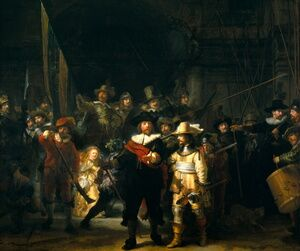 Reproduction oil paintings - Rembrandt - The NightWatch