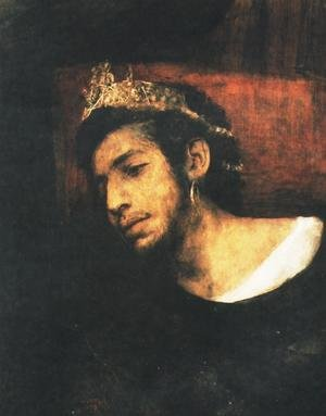 Famous paintings of Men: Ahasverus