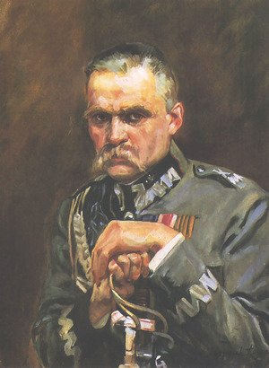 Portrait of Marshall Jozef Pilsudski