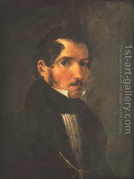 Self-Portrait by Aleksander Slendzinski - Reproduction Oil Painting