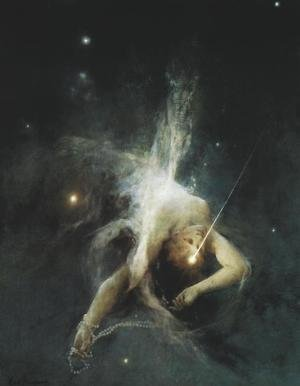 Famous paintings of Nature Spirits: Falling Star
