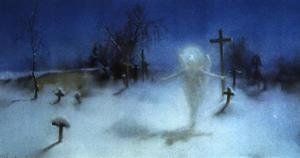 Famous paintings of Cemeteries: Eloe