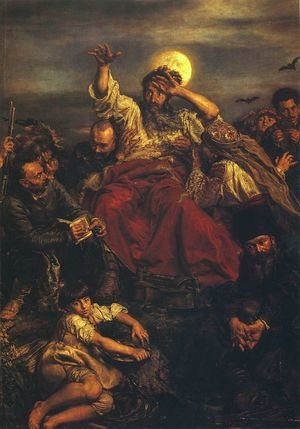 Reproduction oil paintings - Jan Matejko - Wernyhora