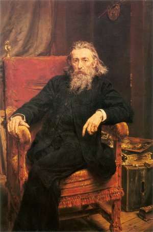 Reproduction oil paintings - Jan Matejko - Self-Portrait
