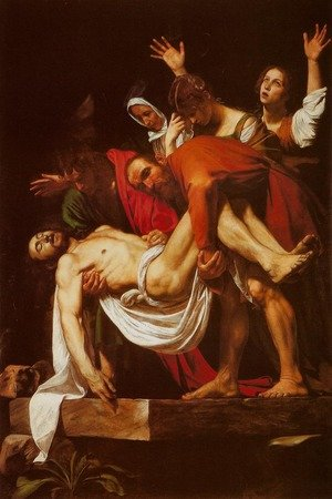 Reproduction oil paintings - Caravaggio - Deposition (Deposizione nel sepolcro)