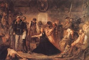 Reproduction oil paintings - Jan Matejko - Year 1863 - Polonia