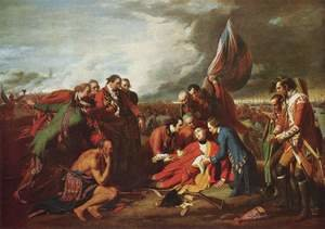 Benjamin West reproductions - The Death of General Wolfe 1770