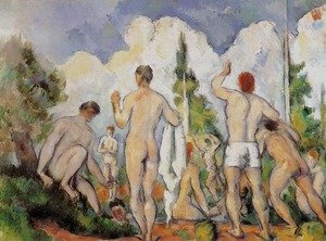 Reproduction oil paintings - Paul Cezanne - Bathers 2